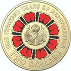 Australia / Two Dollars 2019 Repatriation (Black and Red) - reverse photo