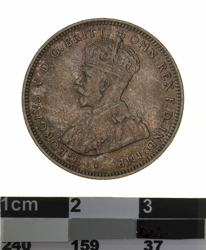 Shilling 1925: Photo Coin - 1 Shilling, Australia, 1925