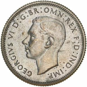 Australia / Shilling 1939 - obverse photo