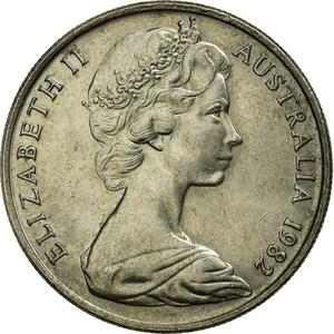 Australia / Ten Cents 1982 - obverse photo