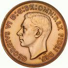 Australia / Halfpenny 1952 - obverse photo
