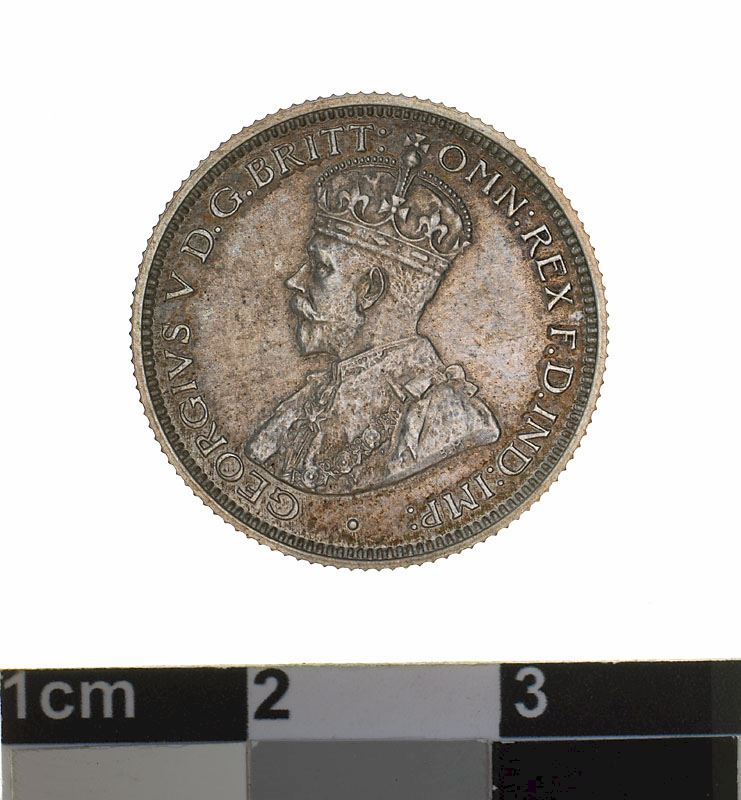 Sixpence 1911: Photo Proof Coin - Sixpence, Australia, 1911