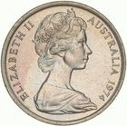 Australia / Five Cents 1974 - obverse photo