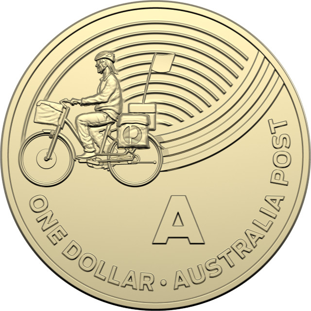 One Dollar 2019 A - Australia Post: Photo One Dollar 2019 A - Australia Post