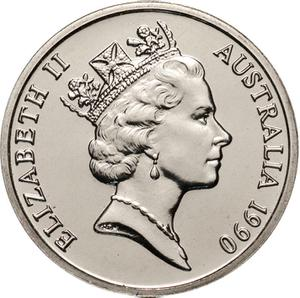 Australia / Ten Cents 1990 - obverse photo