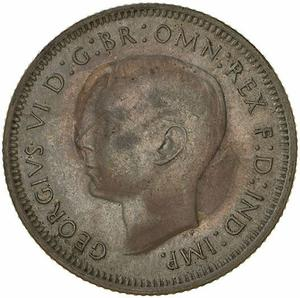 Australia / Shilling 1941 - obverse photo