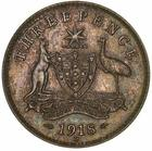 Threepence 1918: Photo Specimen Coin - Threepence, Australia, 1918