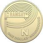 Australia / One Dollar 2019 N - Neighbours - reverse photo