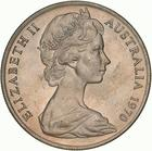 Australia / Ten Cents 1970 - obverse photo
