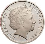 Australia / Ten Cents 1999 / Proof FDC - obverse photo