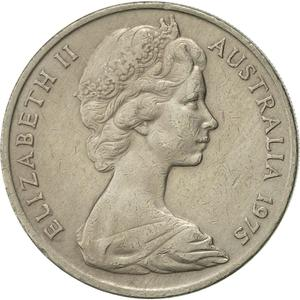 Australia / Twenty Cents 1975 - obverse photo