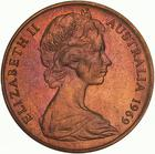 Australia / Two Cents 1969 - obverse photo