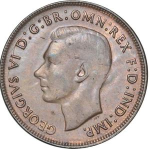 Australia / Penny 1940 - obverse photo