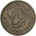 Shilling 1946: Photo Proof Coin - 1 Shilling, Australia, 1946