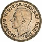 Australia / Threepence 1952 - obverse photo