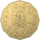 Australia / Fifty Cents 2019 (Second Portrait) - reverse photo