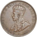 Australia / Penny 1925 - obverse photo