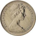 Australia / Five Cents 1980 - obverse photo