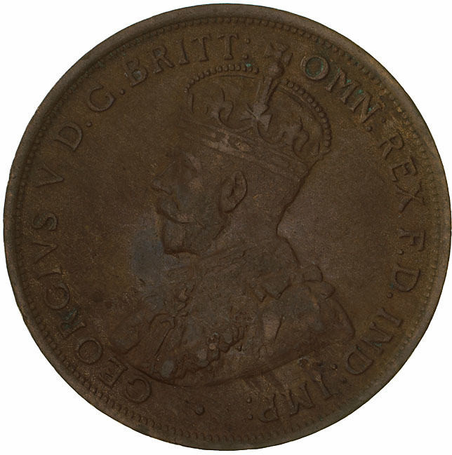 Penny 1914: Photo Coin - 1 Penny, Australia, 1914