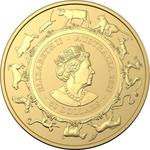 Australia / Gold Half Ounce 2021 Year of the Ox (RAM) - obverse photo