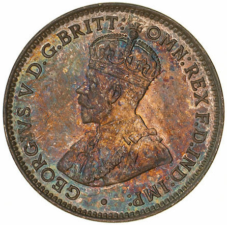 Threepence: Photo Specimen Coin - Threepence, Australia, 1919