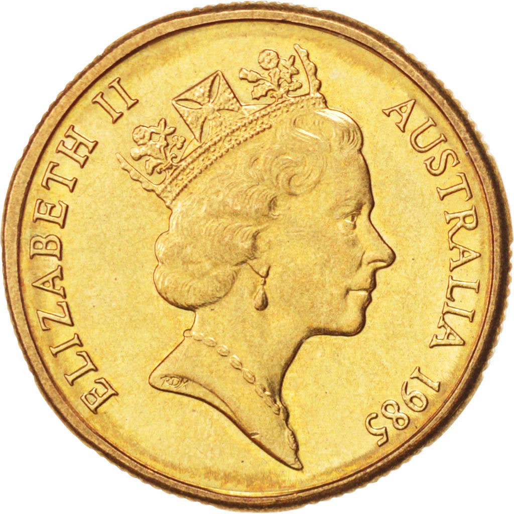 One Dollar: Photo Australia, Elizabeth II, Dollar, 1985