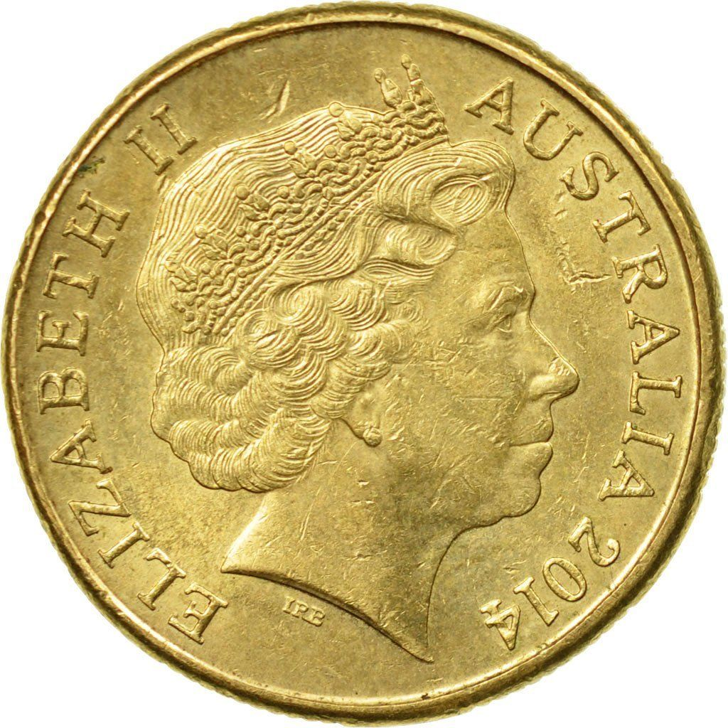 One Dollar: Photo Coin, Australia, Dollar, 2014