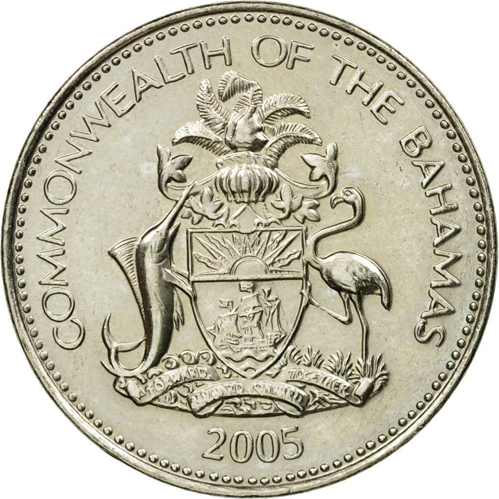 Five Cents 2005: Photo Coin, Bahamas, Elizabeth II, 5 Cents, 2005