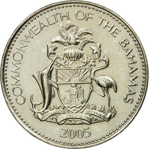 Bahamas / Five Cents 2005 - obverse photo