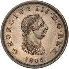 Bahamas, British Crown Colony / Penny 1806 - obverse photo