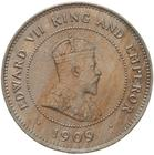 Five Cents 1909: Photo Coin - 5 Cents, British Honduras (Belize), 1909