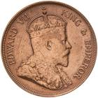 One Cent 1906: Photo Coin - 1 Cent, British Honduras (Belize), 1906