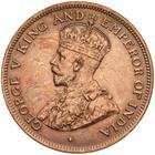 One Cent 1914: Photo Coin - 1 Cent, British Honduras (Belize), 1914