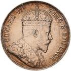 Fifty Cents 1906: Photo Coin - 50 Cents, British Honduras (Belize), 1906