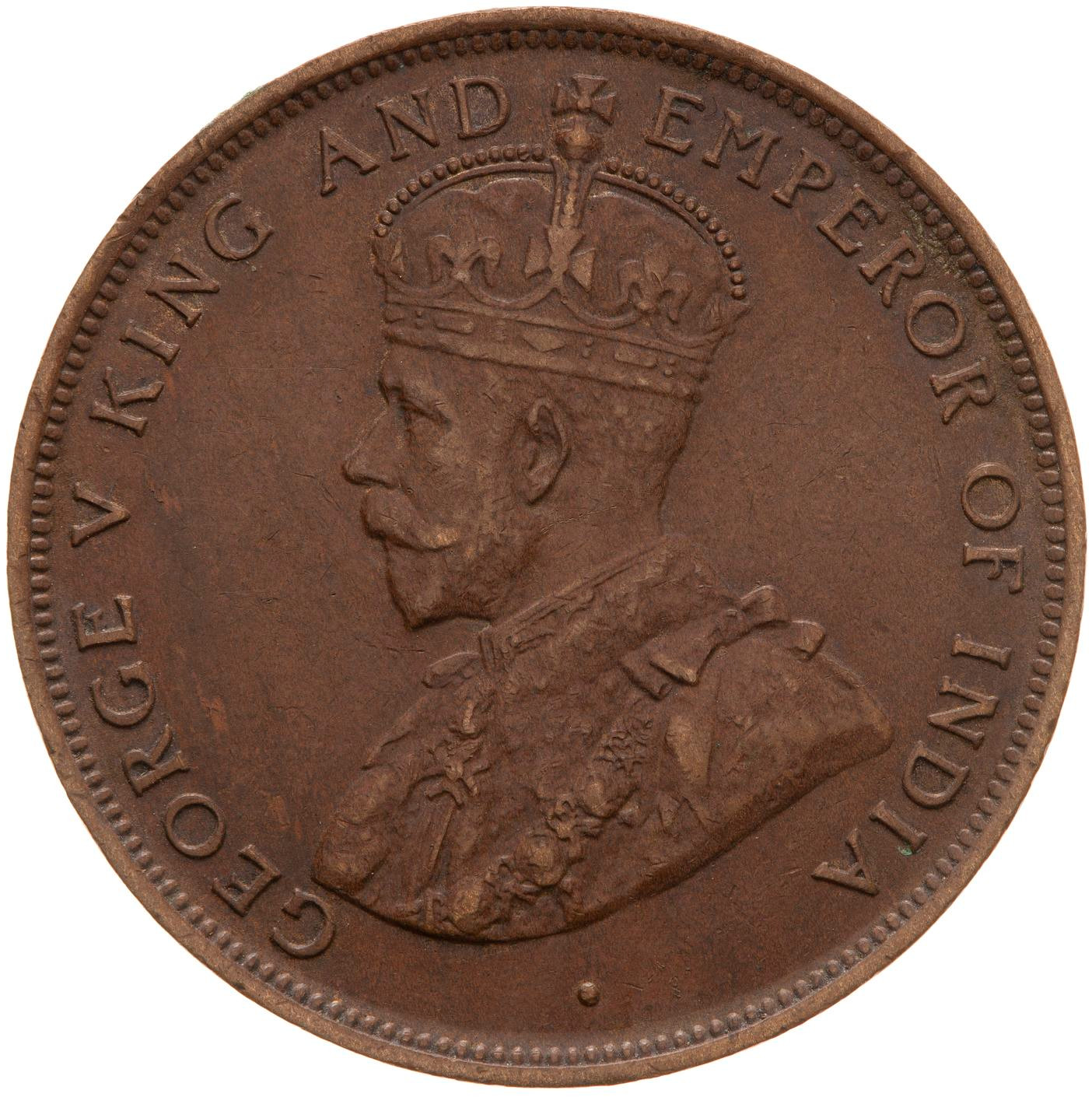 One Cent: Photo Coin - 1 Cent, British Honduras (Belize), 1911