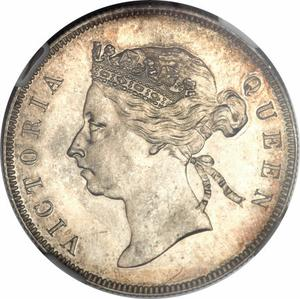 British Honduras / Fifty Cents 1901 - obverse photo