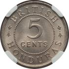 Five Cents 1936: Photo British Honduras 1936 5 cents