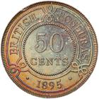 British Honduras / Fifty Cents 1895 - reverse photo