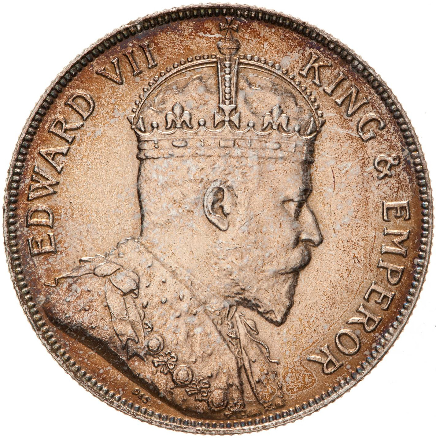 Fifty Cents (Silver): Photo Coin - 50 Cents, British Honduras (Belize), 1906
