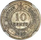 Ten Cents 1939: Photo British Honduras 1939 10 cents