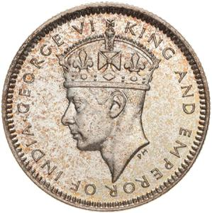 British Honduras / Ten Cents 1939 - obverse photo