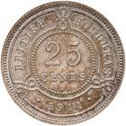 British Honduras / Twenty Five Cents 1911 - reverse photo