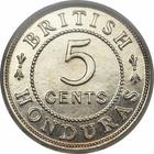Five Cents 1912: Photo British Honduras 1912-H 5 cents