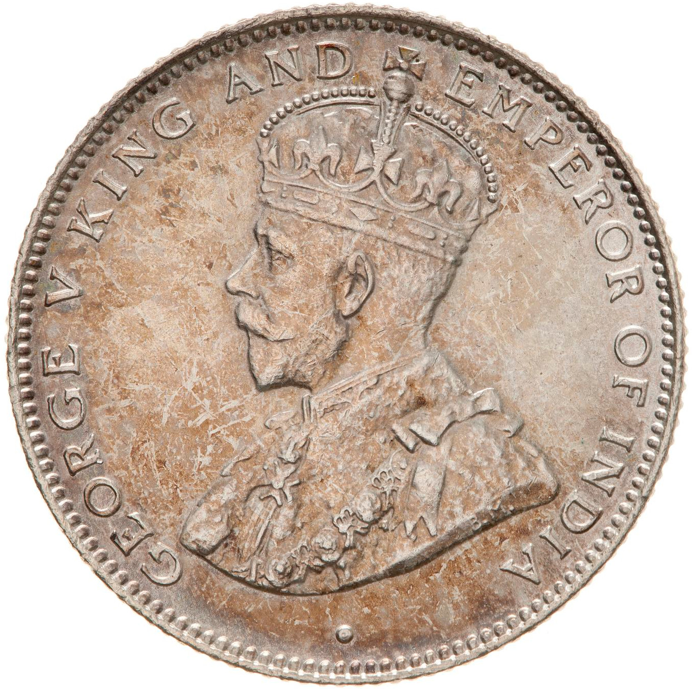 Twenty Five Cents: Photo Coin - 25 Cents, British Honduras (Belize), 1911