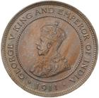 Five Cents 1911: Photo Coin - 5 Cents, British Honduras (Belize), 1911