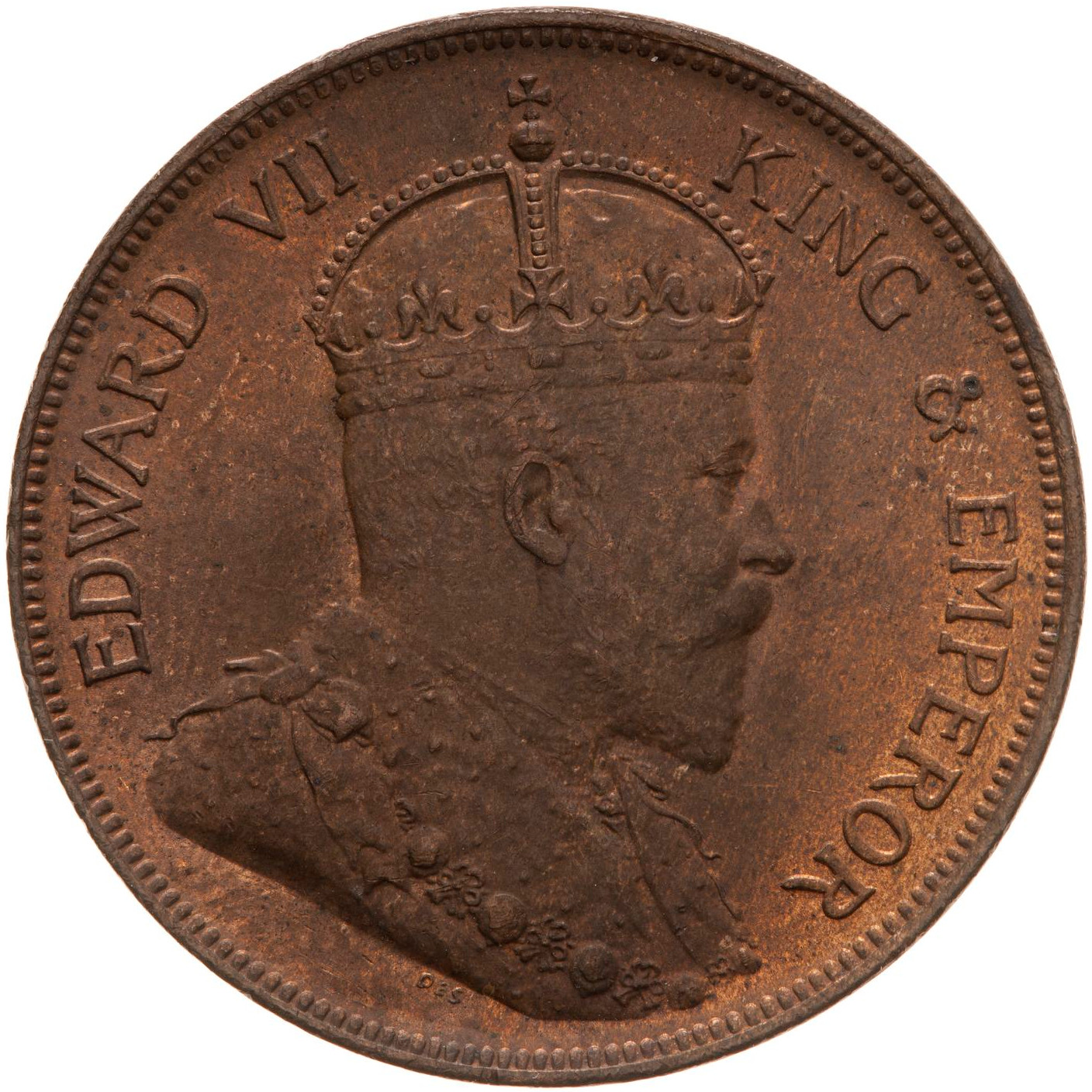 One Cent: Photo Coin - 1 Cent, British Honduras (Belize), 1904