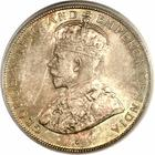Fifty Cents 1919: Photo British Honduras 1919 50 cents