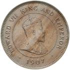 British Honduras / Five Cents 1907 - obverse photo