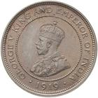 British Honduras / Five Cents 1919 - obverse photo