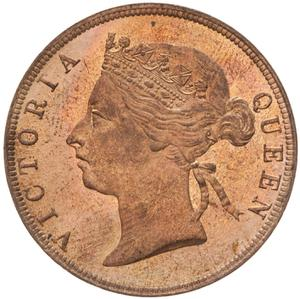 British Honduras / One Cent 1889 - obverse photo
